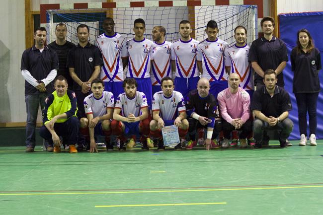 Selection france futsal romorantin