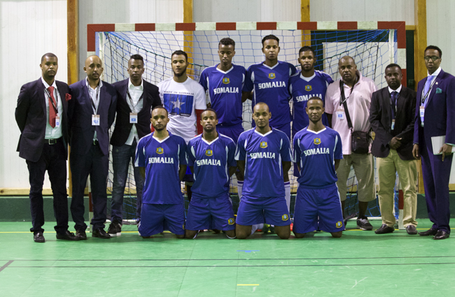 Selection somalie futsal romorantin