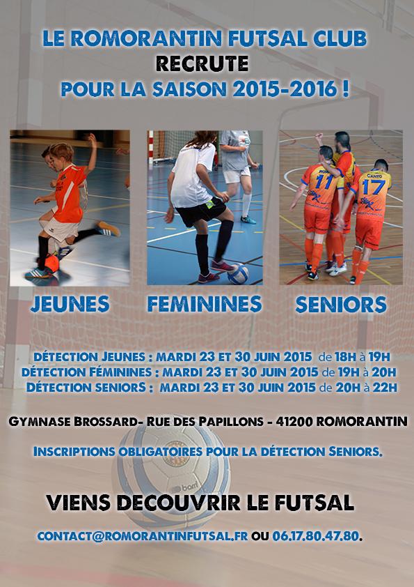 affiche-recrutement-romorantin-futsal-club
