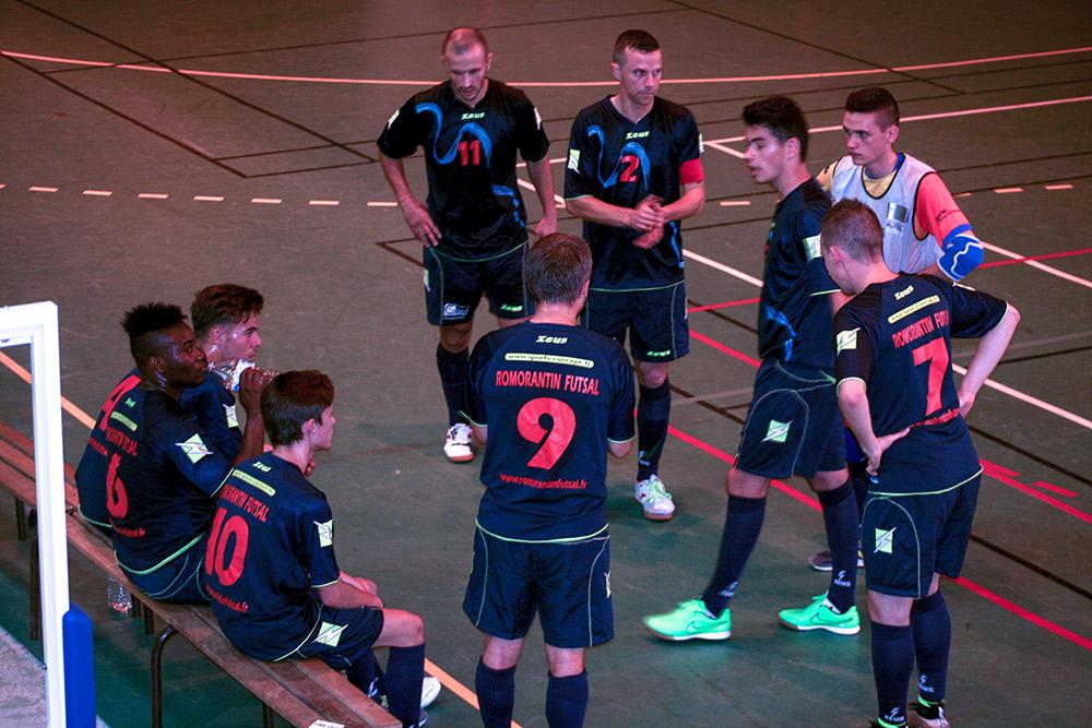 Le Romorantin Futsal Club a tout donné