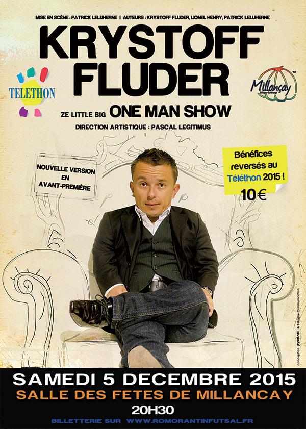 Affiche Krystoff Fluder Téléthon 2015
