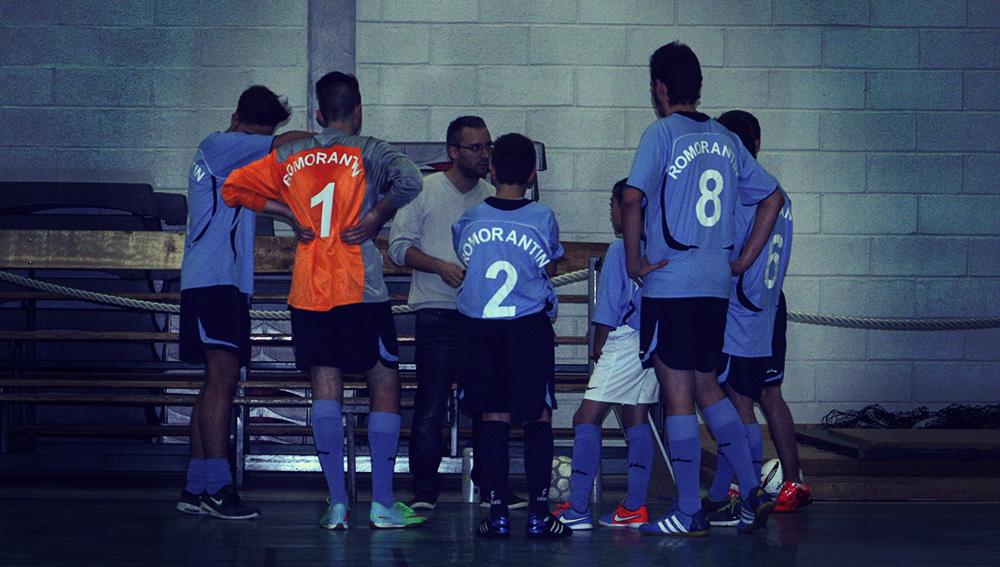 L'équipe des Futures du Romorantin Futsal Club