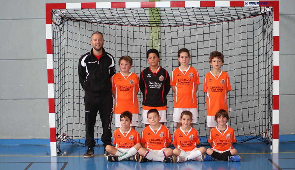 Les Juvenils de la RFC Academy