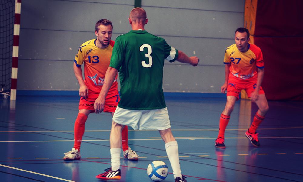 Romorantin Futsal Club et Bracieux Futsal lors d'un derby