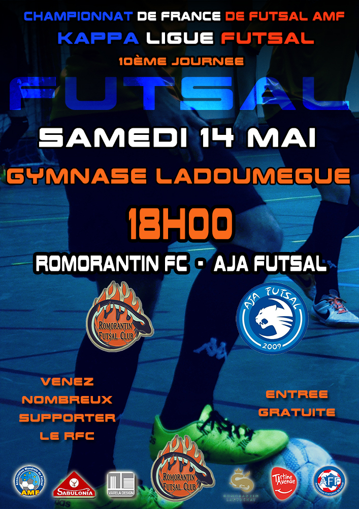 affiche-KLF-J10-romorantin-futsal
