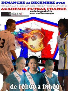 Academy Futsal France - J3 @ Mont-prés-Chambord | Centre-Val de Loire | France