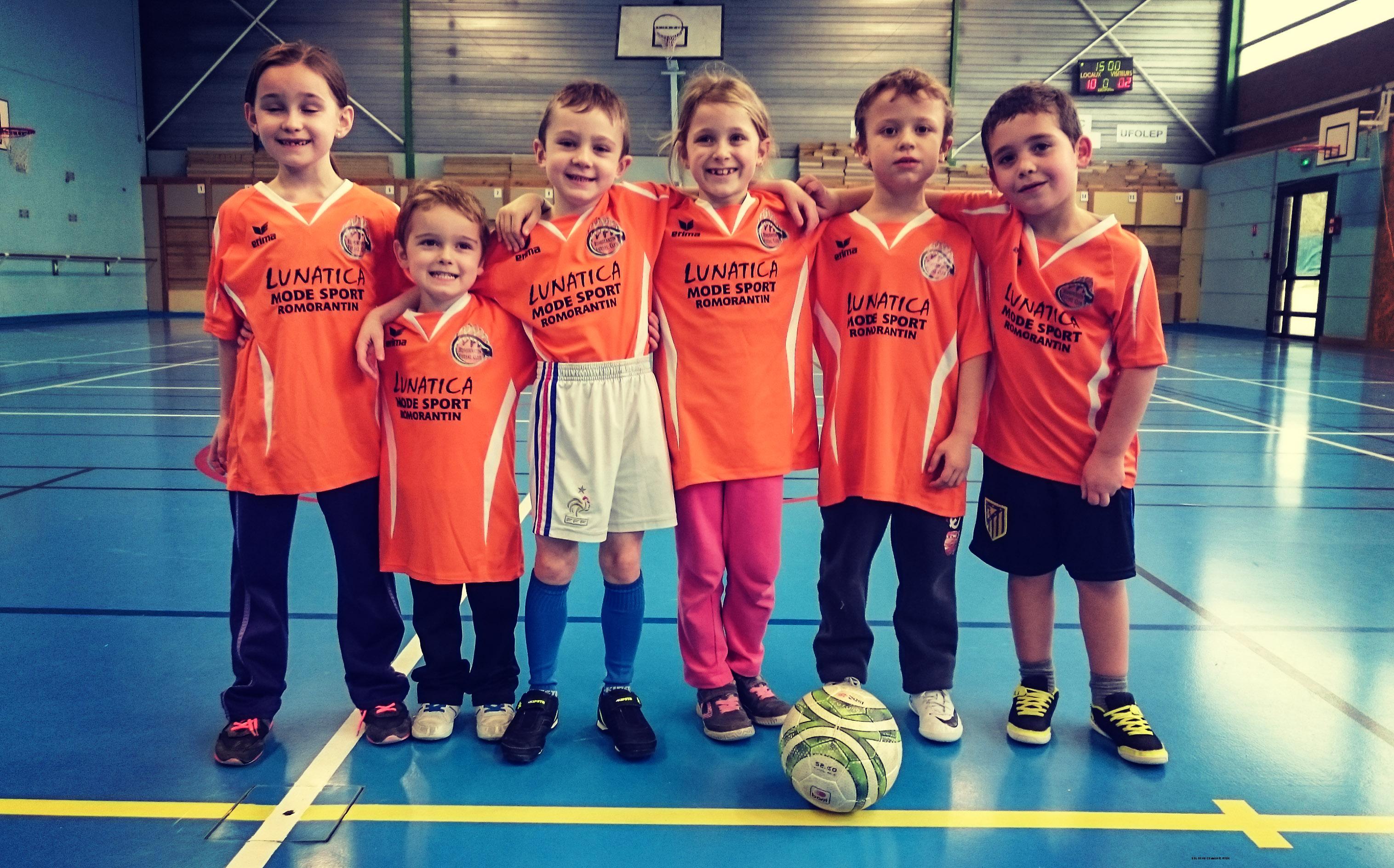 Team U7 romorantin futsal résultats