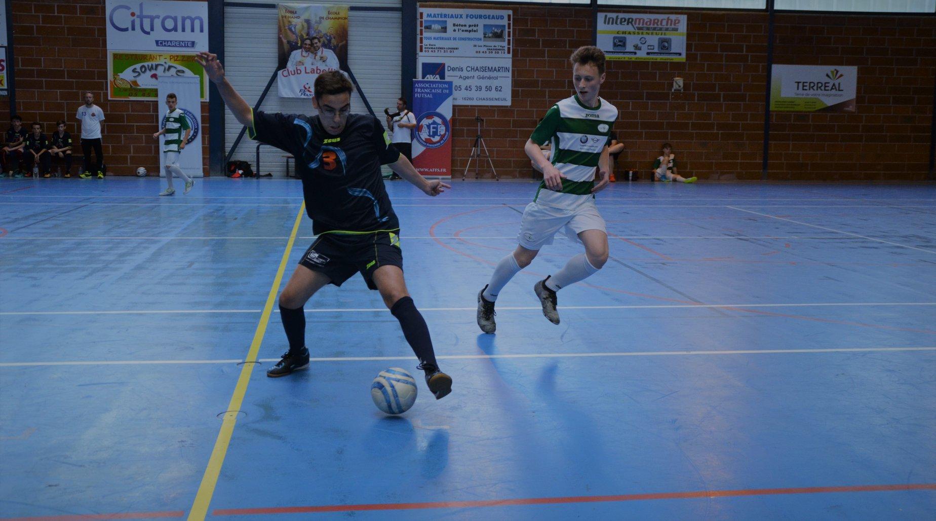 romorantin futsal vice-champion de france 2018