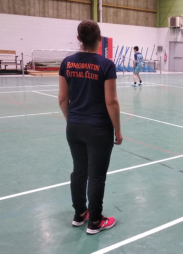 t-shirt romorantin futsal