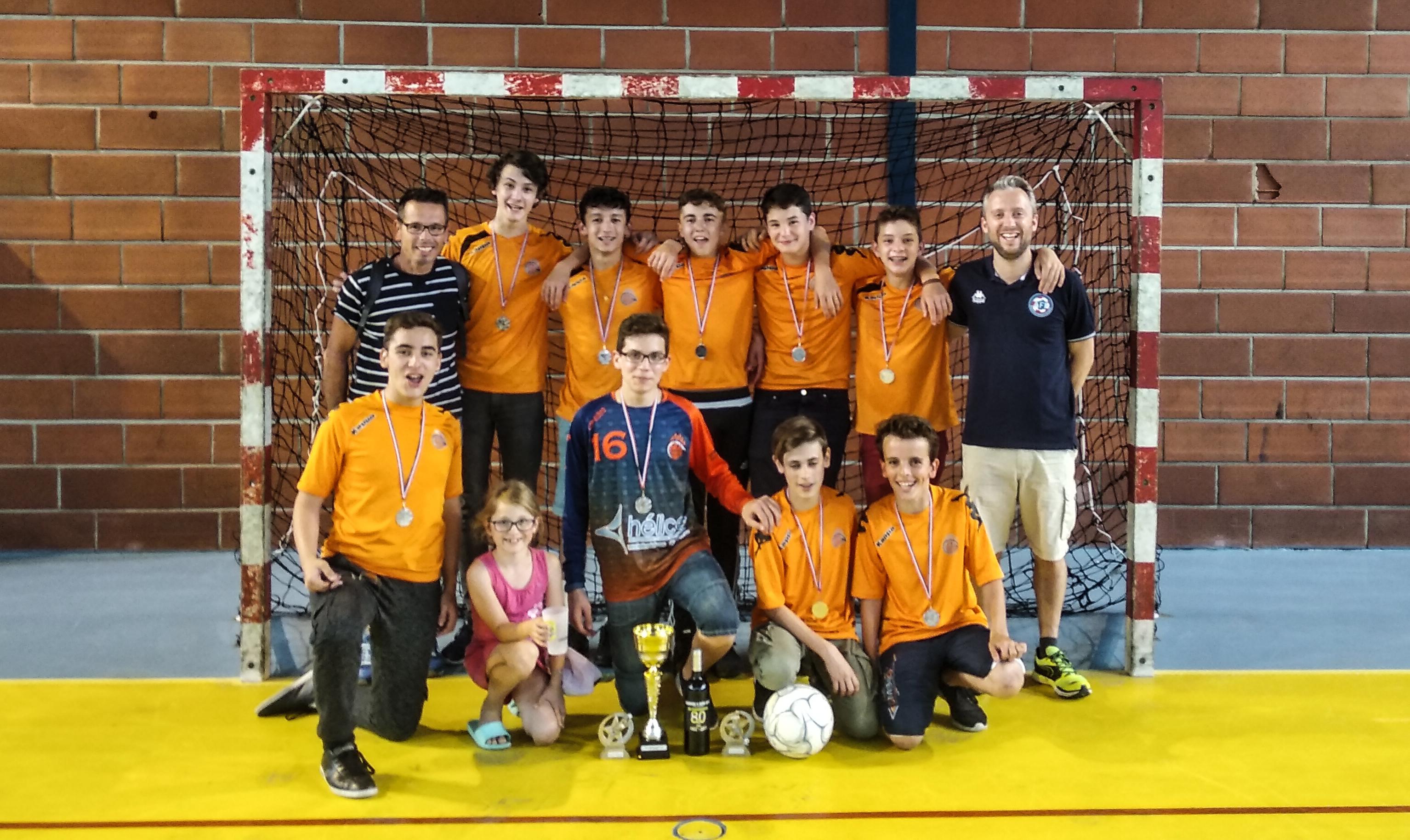 team U15 romorantin futsal club